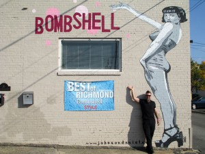 "Best of Richmond ""Bombshell"" photo of a building."