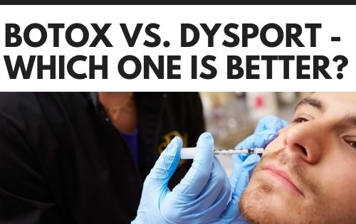 Compare botox and dysport treatments