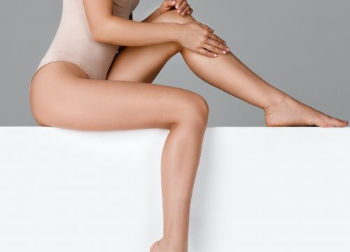Smooth legs after laser hair removal