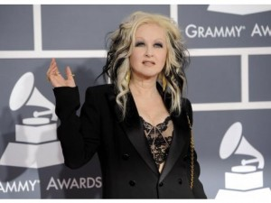 Cindi Lauper at the Grammy Awards